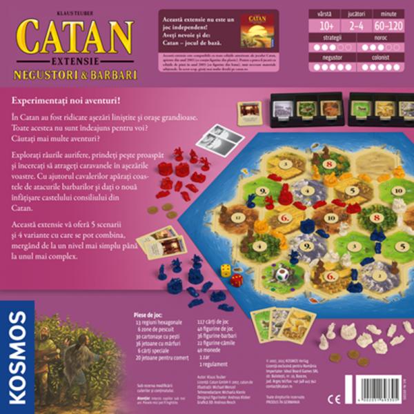 Colonistii din Catan - Negustori si Barbari [1]
