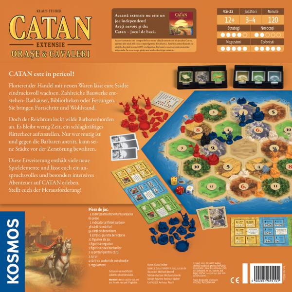 Colonistii din Catan - Orase si Cavaleri 1