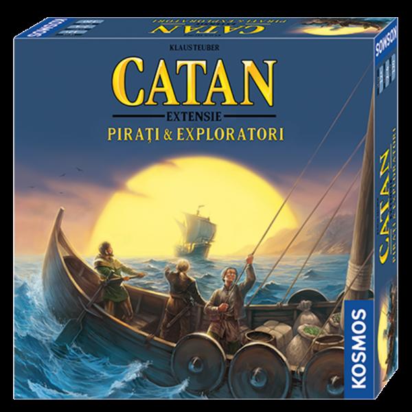 Colonistii din Catan - Pirati si Exploratori 0