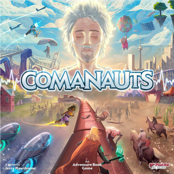 Comanauts: An Adventure Book Game 0