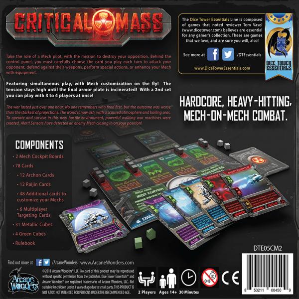 Critical Mass: Raijin vs Archon 1