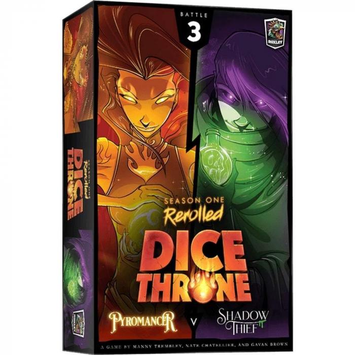 Dice Throne: Season One ReRolled – Pyromancer v. Shadow Thief [0]