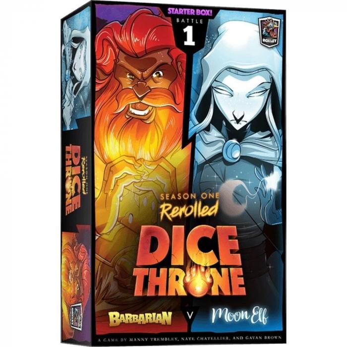 Dice Throne: Season One ReRolled – Barbarian v. Moon Elf [0]