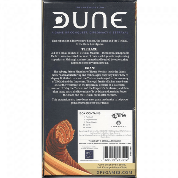 Dune: Ixians & Tleilaxu 1