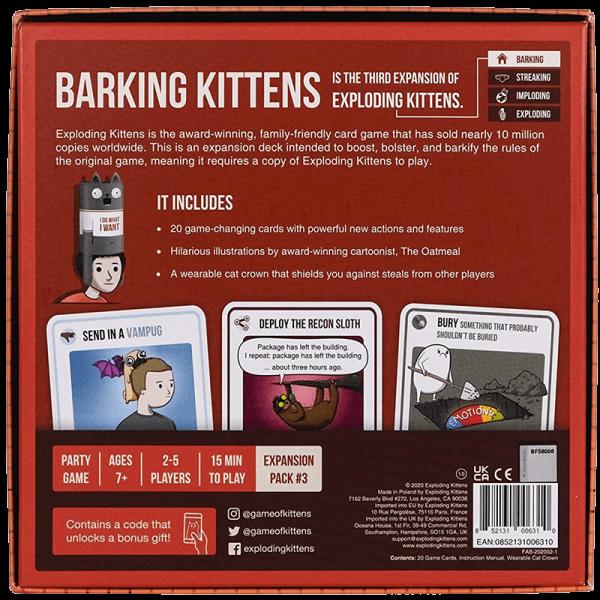 Exploding Kittens: Barking Kittens [1]