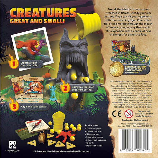 Fireball Island: Crouching Tiger, Hidden Bees! 1