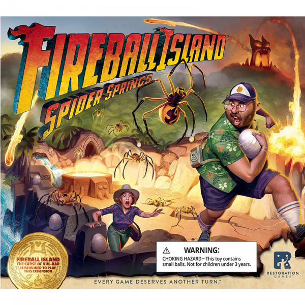 Fireball Island: Spider Springs 0
