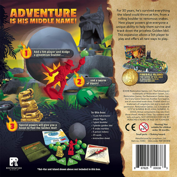 Fireball Island: The Last Adventurer 1