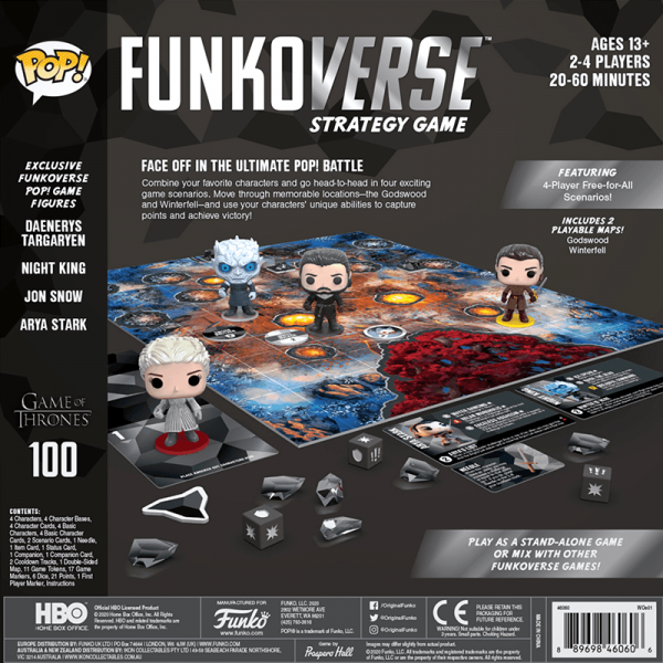 Funkoverse Game of Thrones 1
