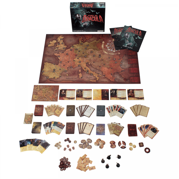 Fury of Dracula (4th edition) 2