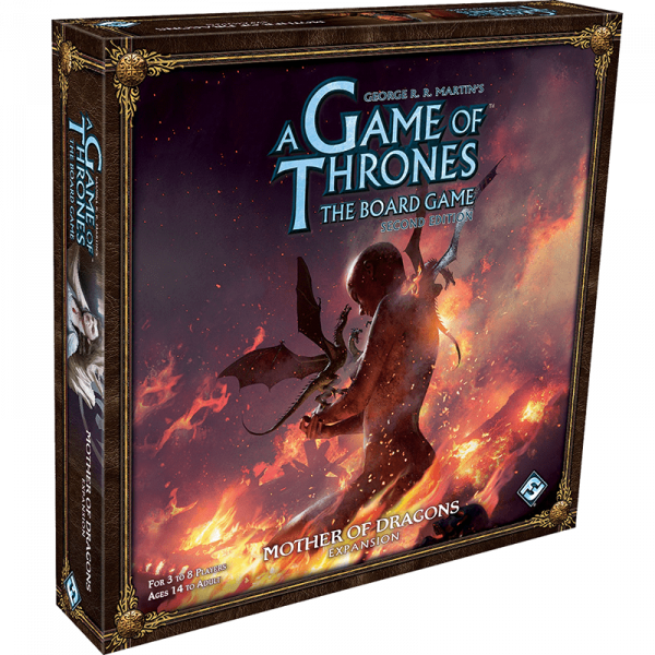 Game Of Thrones The Board Game: Mother of Dragons Expansion 0