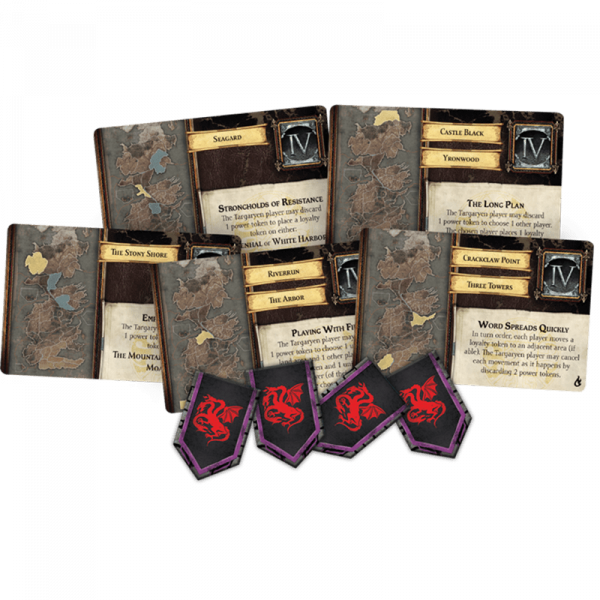 Game Of Thrones The Board Game: Mother of Dragons Expansion 4