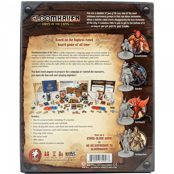 Gloomhaven: Jaws of the Lion 1
