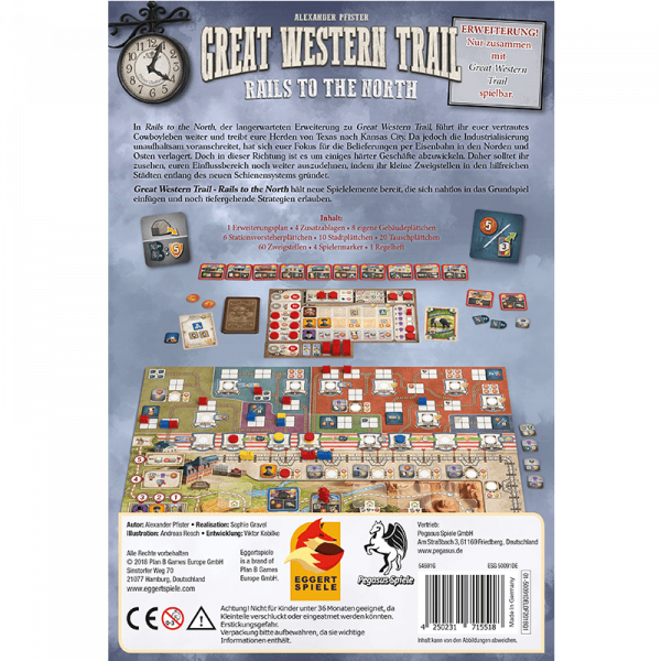 Great Western Trail: Rails to the North (germană) 1