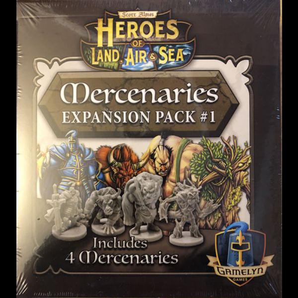Heroes of Land, Air & Sea: Mercenaries Expansion Pack 1 [0]