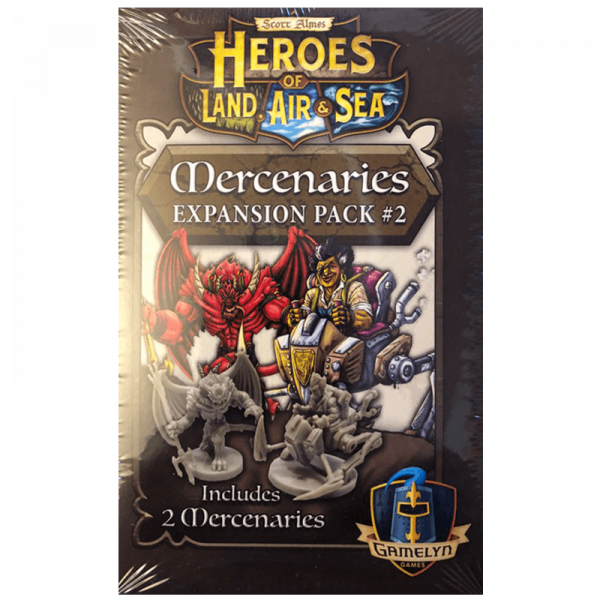 Heroes of Land, Air & Sea: Mercenaries Expansion Pack 2 [0]