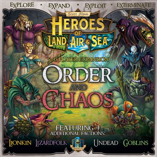 Heroes of Land, Air & Sea: Order and Chaos 0