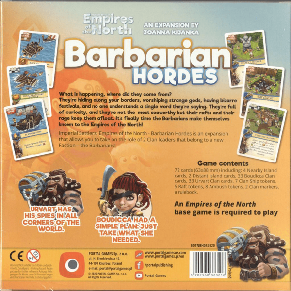 Imperial Settlers: Empires of the North – Barbarian Hordes 1
