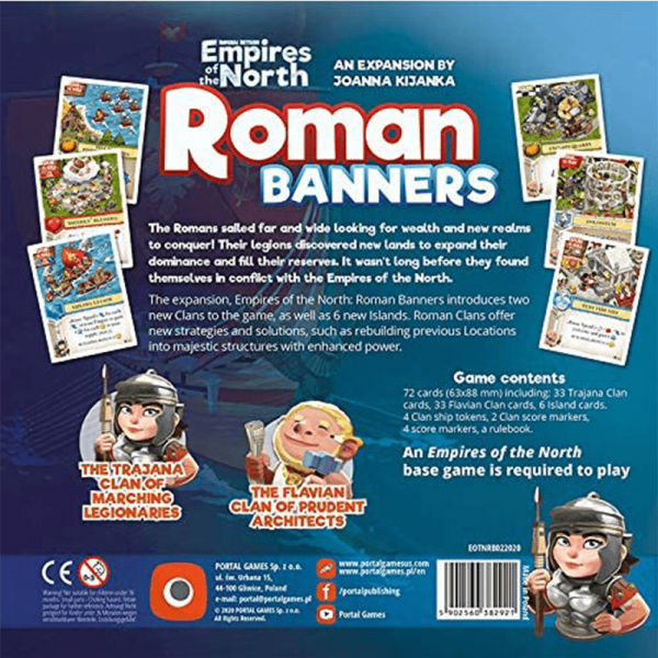 Imperial Settlers: Empires of the North – Roman Banners 1
