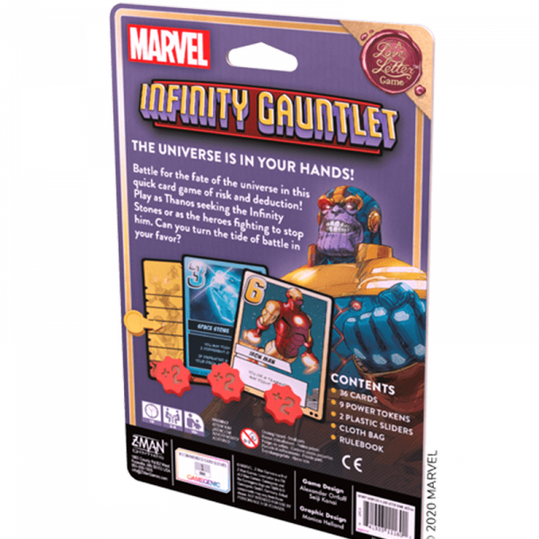 Infinity Gauntlet: A Love Letter Game (English Edition) 1
