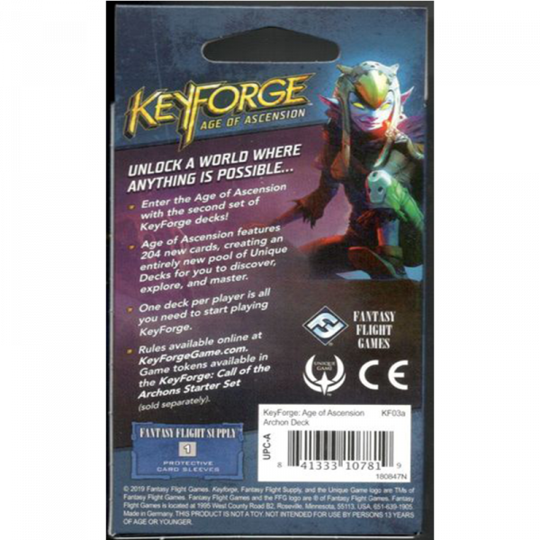 KeyForge: Age of Ascension Archon Deck [1]