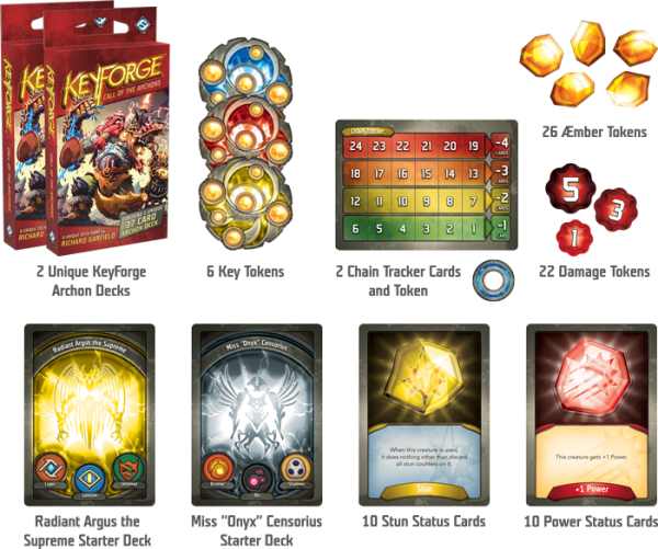 KeyForge: Call of the Archons (2 Player Starter Set) 1