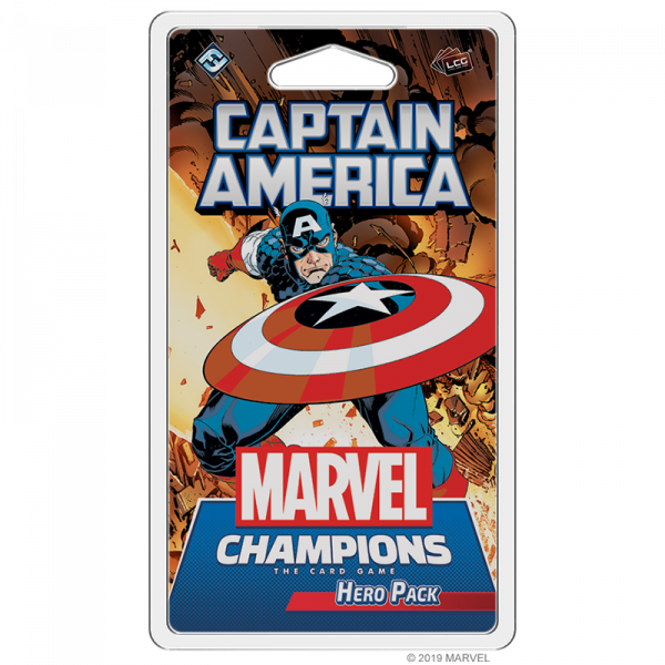Marvel Champions: Captain America Hero Pack [0]