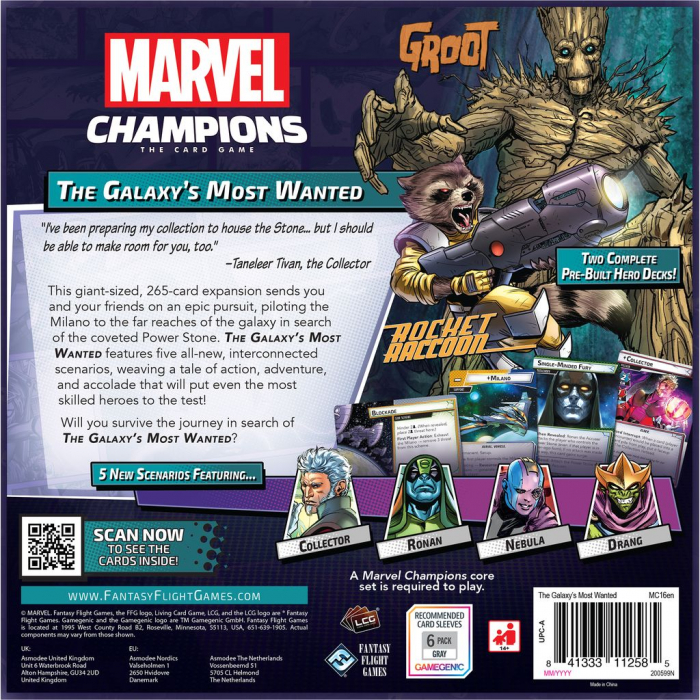 Marvel Champions: The Galaxy's Most Wanted 1