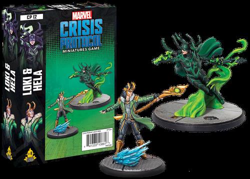 Marvel: Crisis Protocol – Loki and Hela [0]