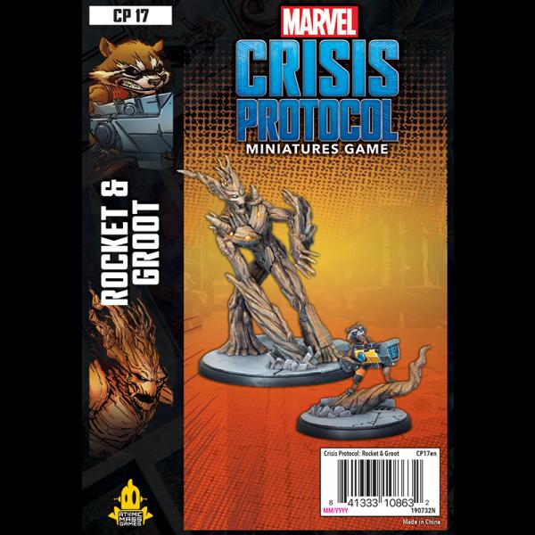 Marvel: Crisis Protocol – Rocket & Groot 0