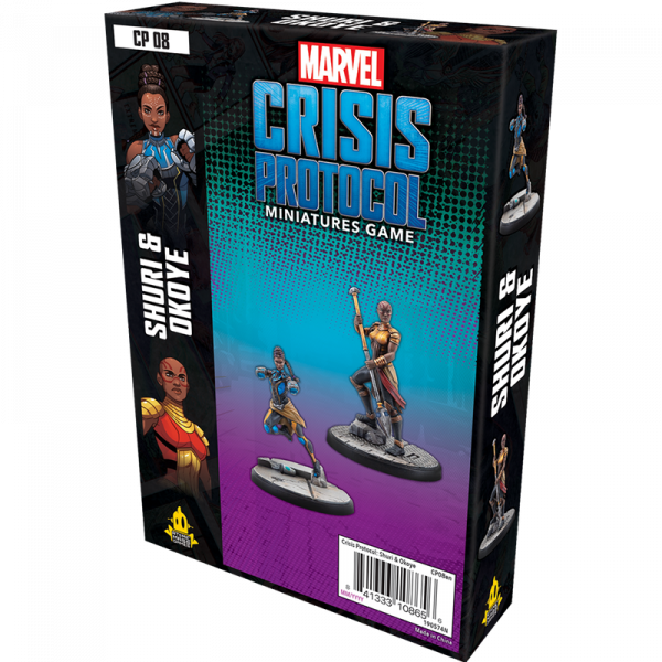 Marvel: Crisis Protocol - Shuri and Okoye 0