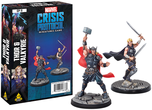 Marvel: Crisis Protocol – Thor and Valkyrie [0]