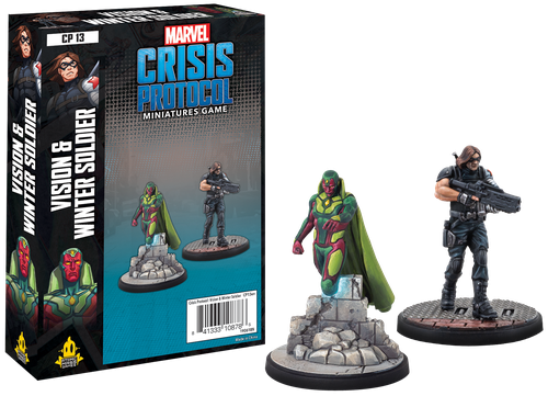Marvel: Crisis Protocol – Vision and Winter Soldier 0