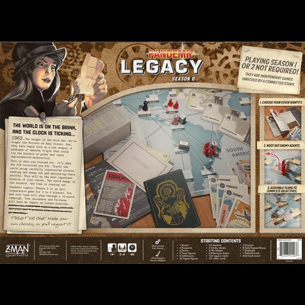Pandemic Legacy: Season 0 [1]