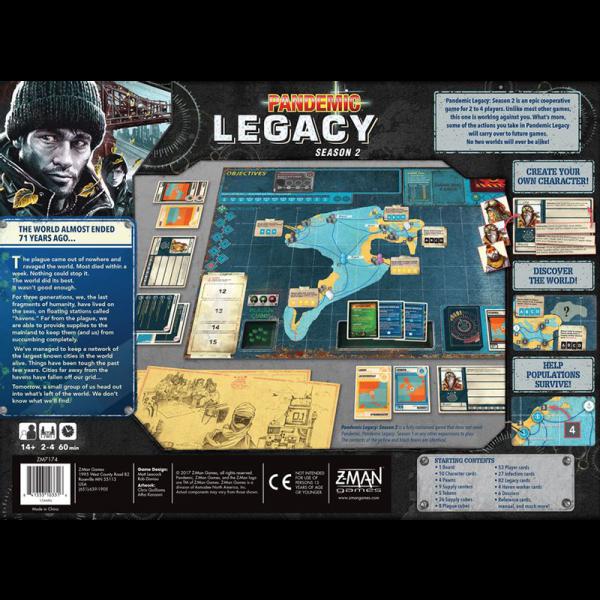 Pandemic Legacy: Season 2 (Negru) [1]