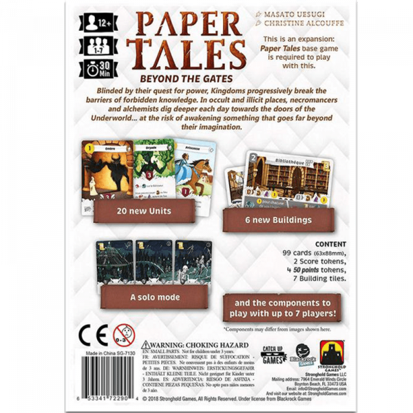 Paper Tales: Beyond the Gates 1