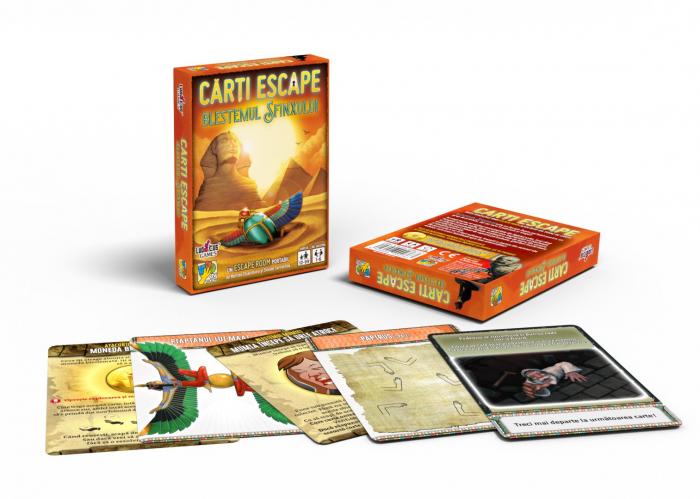 Cărți Escape - Blestemul Sfinxului 1