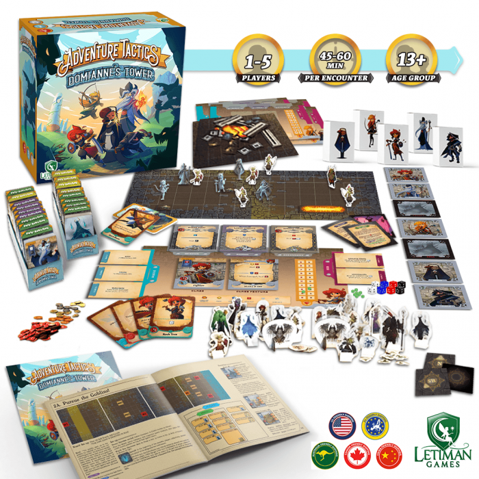 Adventure Tactics: Domianne's Tower 1