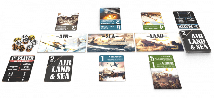 Air, Land & Sea (Revised Edition) [3]