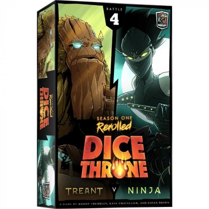 Dice Throne: Season One ReRolled – Treant v. Ninja [0]