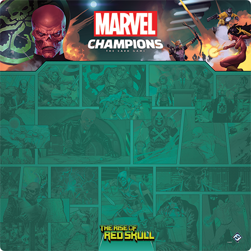 Red Skull 1-4 Player Game Mat [0]