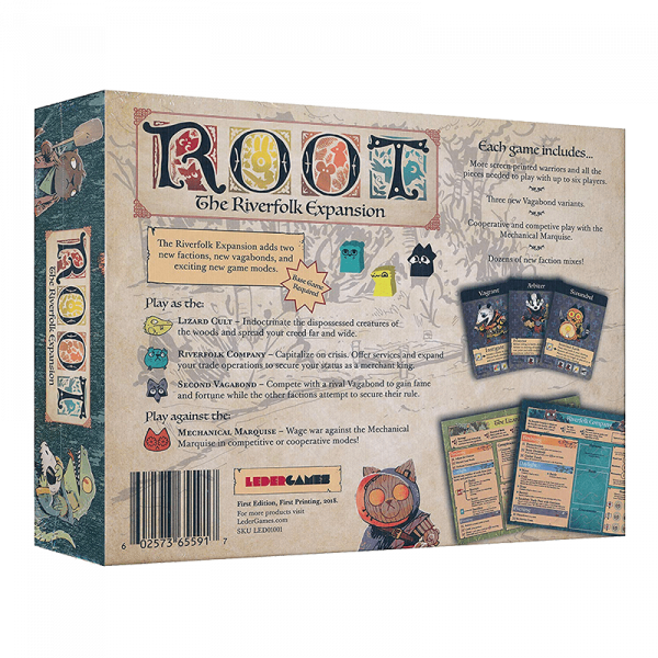 Root: The Riverfolk Expansion (5th Printing) 1