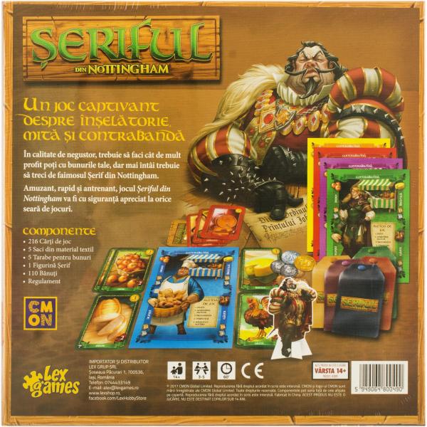 Seriful din Nottingham (Romanian Edition) aka Sheriff of Nottingham 1