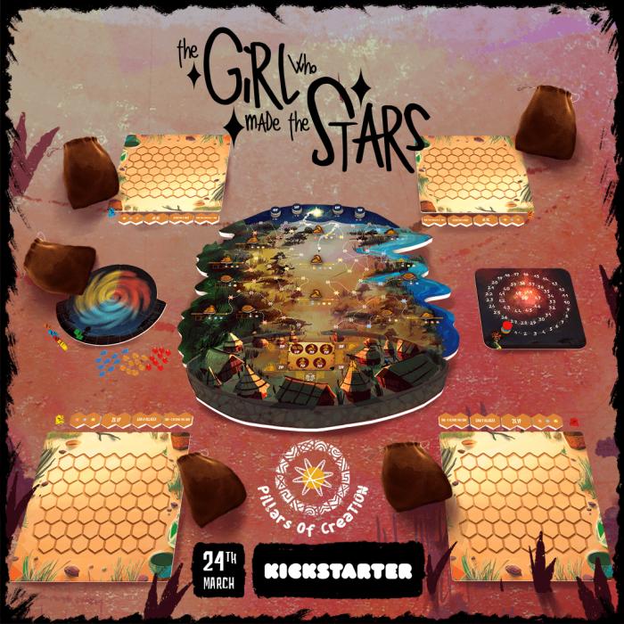 (PRECOMANDA) The Girl Who Made The Stars (Kickstarter Edition) [2]