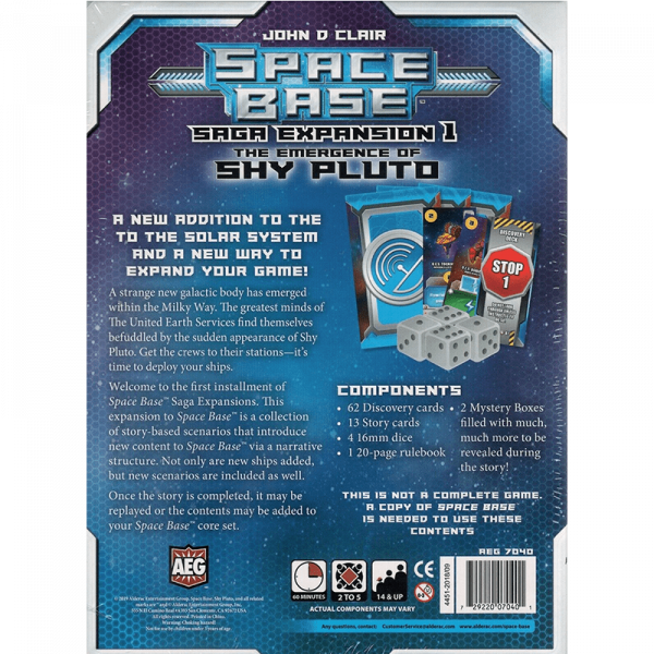 Space Base: The Emergence of Shy Pluto [1]