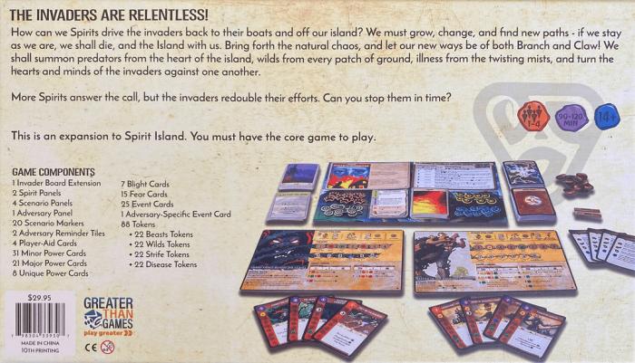 Spirit Island: Branch & Claw [1]