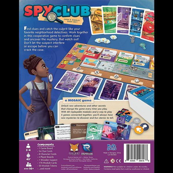 Spy Club [1]