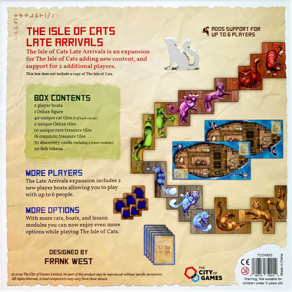 The Isle of Cats: Late Arrivals 1