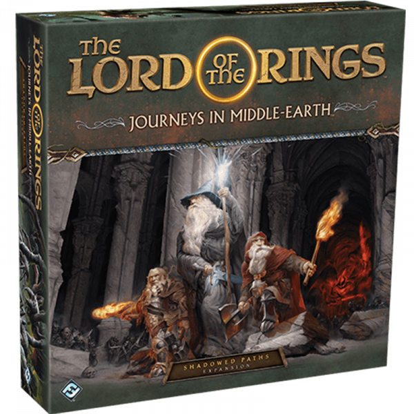 The Lord of the Rings: Journeys in Middle Earth – Shadowed Paths Expansion 0
