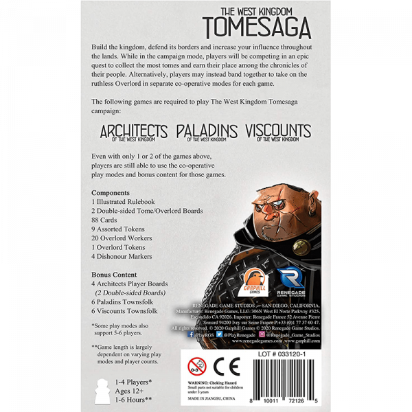 The West Kingdom Tomesaga 1